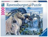Ravensburger 19638 - Mystische Drachen, Puzzle, 1000 Teile