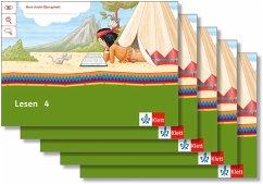 Mein Indianerheft. Lesen. Arbeitsheft Klasse 4 / Mein Indianerheft. Lesen Bd.4 (5-er Paket)