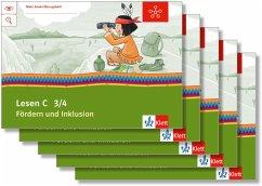 Mein Indianerheft. Lesen C. Fördern und Inklusion. Arbeitsheft Klasse 3 (5-er Paket)