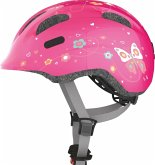 Radhelm S 45-50 Smiley pink butterfly