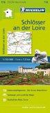 Michelin Karte Schlösser an der Loire. Val de Loire et ses châteaux