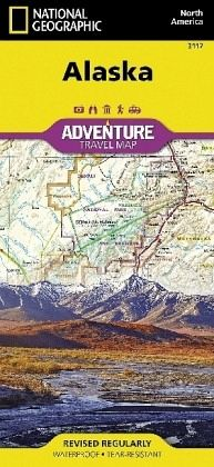 National Geographic Adventure Map United States, Alaska von National ...