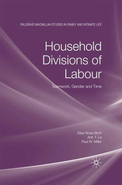 gender and the division of household labour Division of domestic labour is the division of tasks, roles and duties within the household that are influenced by specific cultural and social conditions.
