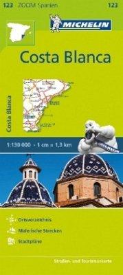 Michelin Karte Costa Blanca