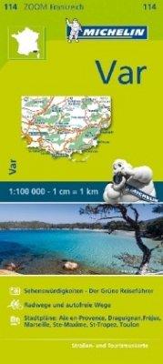 Michelin Karte Var; Pays varois, Gorges du Verdon