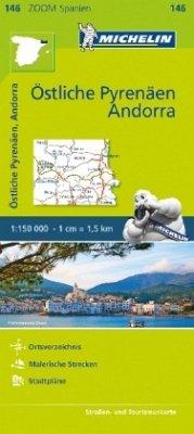 Michelin Östliche Pyrenäen; Pyrénées Orientales, Andorre