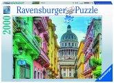 Ravensburger 16618 - Buntes Kuba, Puzzle, 2000 Teile