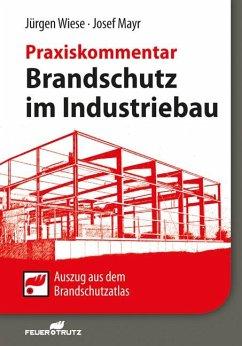 Brandschutz im Industriebau - Praxiskommentar - Wiese, Jürgen; Mayr, Josef