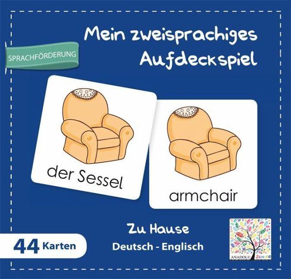 Mein Zweisprachiges Aufdeckspiel Zu Hause Deutsch
