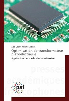 Optimisation de transformateur piézoélectrique - Cherif, Aida; Meddad, Mounir