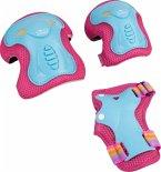 Hudora 83318 - Protektoren Kinder Skate Wonders, Protektoren-Set Inliner, Gr. M