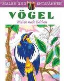 Malen und entspannen: Malen nach Zahlen - Vögel