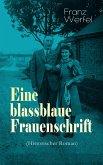 Eine blassblaue Frauenschrift (Historischer Roman) (eBook, ePUB)