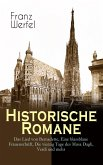 Historische Romane: Das Lied von Bernadette, Eine blassblaue Frauenschrift, Die vierzig Tage des Musa Dagh, Verdi und mehr (eBook, ePUB)