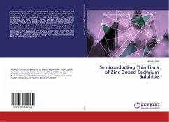 Semiconducting Thin Films of Zinc Doped Cadmium Sulphide