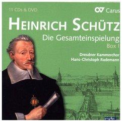 Die Gesamteinspielung Vol.1 (11 Cd+Dvd) - Mields/Rademann/Kobow/Poplutz/Dresdner Kammerchor