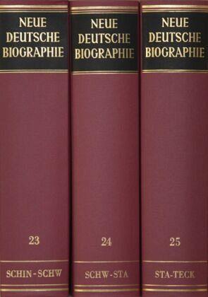 Neue Deutsche Biographie.