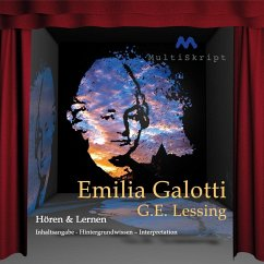 G. E. Lessing ´Emilia Galotti´, 1 Audio-CD