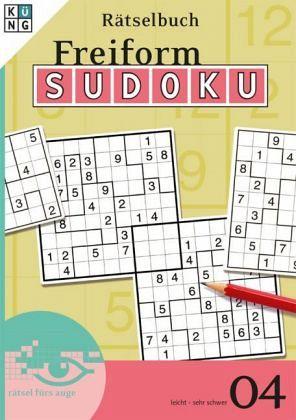 Freiform-Sudoku Rätselbuch 04