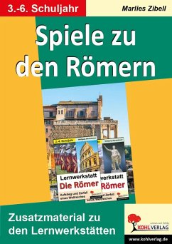 Spiele zu den Römern (eBook, PDF) - Zibell, Marlies