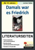 Damals war es Friedrich - Literaturseiten (eBook, PDF)