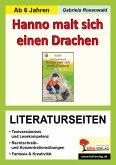 Hanno malt sich einen Drachen - Literaturseiten (eBook, PDF)