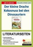 Der kleine Drache Kokosnuss bei den Dinosauriern - Literaturseiten (eBook, PDF)