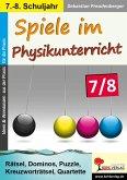 Spiele im Physikunterricht / Klasse 7-8 (eBook, PDF)