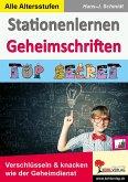 Stationenlernen Geheimschriften (eBook, PDF)