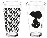 "Peanuts 0122016 - Saftglas ""Snoopy"", 2-er Set, 400 ml, glas"