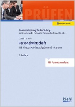Personalwirtschaft - Krause, Günter; Krause, Bärbel