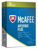 McAfee AntiVirus Plus 2017 - 10 Geräte (Online Code)