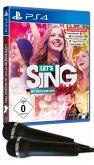 Let's Sing 2017 mit deutschen Hits - 2 Mikrofone Bundle (PlayStation 4)