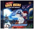 Der kleine Hui Buh - Hui buh und seine Rasselkette/Halloween-Party, 1 Audio-CD