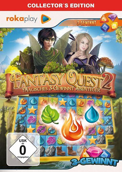 fantasy quest 2 rette das feenreich collector 39 s edition pc spiel. Black Bedroom Furniture Sets. Home Design Ideas
