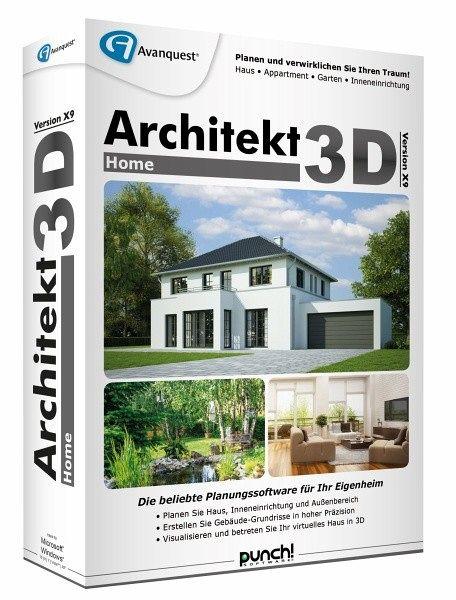 architekt 3d x9 home planungssoftware f r ihr eigenheim software. Black Bedroom Furniture Sets. Home Design Ideas