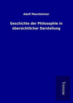 Geschichte der Philosophie in übersichtlicher Darstellung - Mannheimer, Adolf