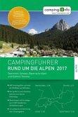 Campingführer Rund um die Alpen 2017