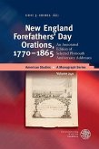 New England Forefathers´ Day Orations, 1770-1865 (eBook, PDF)