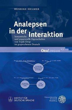 Analepsen in der Interaktion (eBook, PDF) - Helmer, Henrike