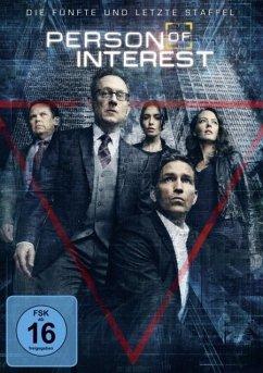 Person of Interest - Staffel 5 DVD-Box
