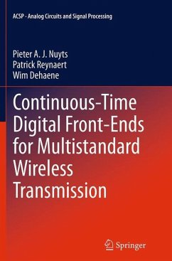 Continuous-Time Digital Front-Ends for Multistandard Wireless Transmission - Nuyts, Pieter A. J.;Reynaert, Patrick;Dehaene, Wim