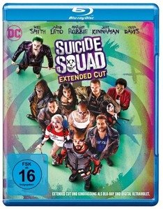 Suicide Squad (Extended Cut + Kinofassung, 2 Discs)