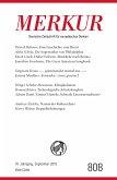 MERKUR Deutsche Zeitschrift für europäisches Denken - 2016-09 (eBook, ePUB)