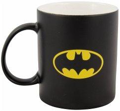 "United labels 0122050 - Tasse ""BAT Symbol"", Porzellan, matt schwarz, circa 300 ml,"