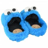 United labels 0119988 - Sesamstraße, Cookie Monster Hausschuhe royalblau