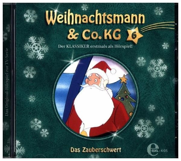 weihnachtsmann co kg das zauberschwert 1 audio cd. Black Bedroom Furniture Sets. Home Design Ideas