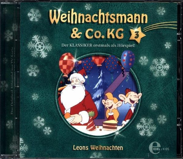 weihnachtsmann co kg leons weihnachten 1 audio cd. Black Bedroom Furniture Sets. Home Design Ideas