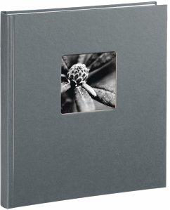 Hama Fine Art Buchalbum grau 29x32 50 weiße Seiten 2117