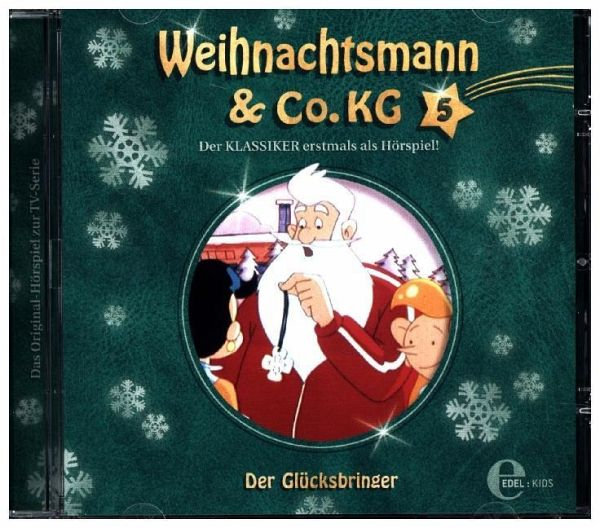 weihnachtsmann co kg der gl cksbringer 1 audio cd. Black Bedroom Furniture Sets. Home Design Ideas